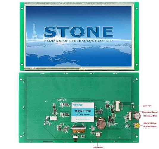 STM32-development-board-tutorial-Use-STONE-LCD-control-STM32 (6)